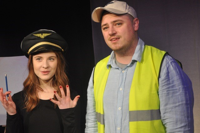 Meg and Kieran